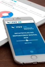 Relatório de acessos ao sistema de bibliotecas FGV